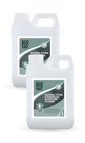 ECOPROTEC Natural Stone & Porcelain After Care Cleaner 1 Litre x2