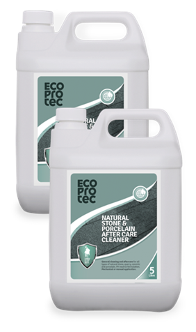 ECOPROTEC Natural Stone & Porcelain After Care Cleaner 5 Litre x2