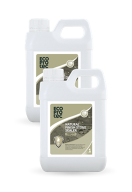 ECOPROTEC - Natural Finish Stone Sealer 1 Litre x2
