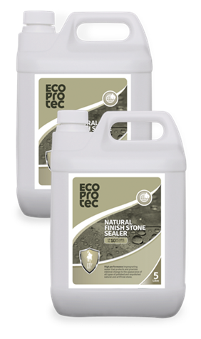 ECOPROTEC - Natural Finish Stone Sealer 5 Litre x2
