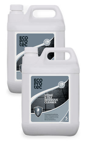 ECOPROTEC Stone & Tile Intensive Cleaner 5 Litre x2