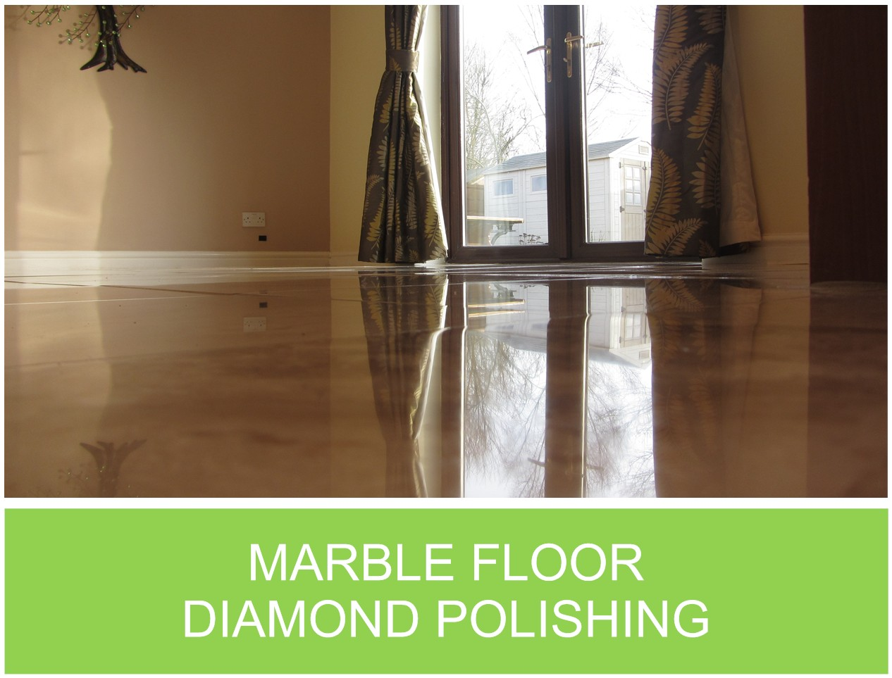 Marble Diamond Polishing