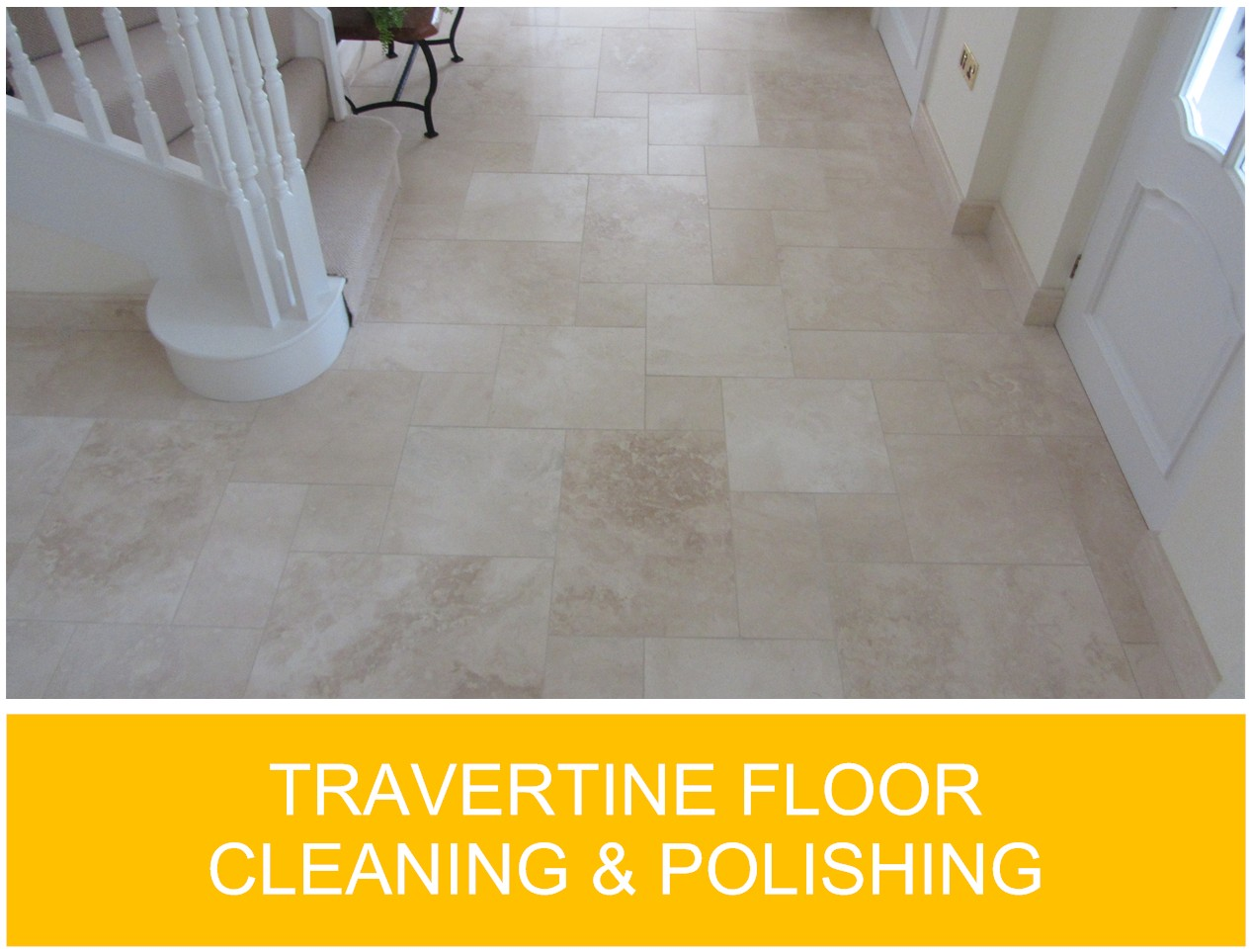 Travertine Floor Cleaning And Polishing